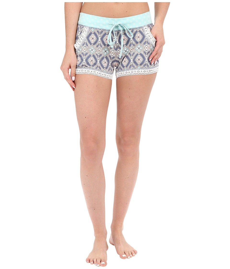 P.J. Salvage - Miss Matched Sleep Shorts (Natural) Women's Pajama