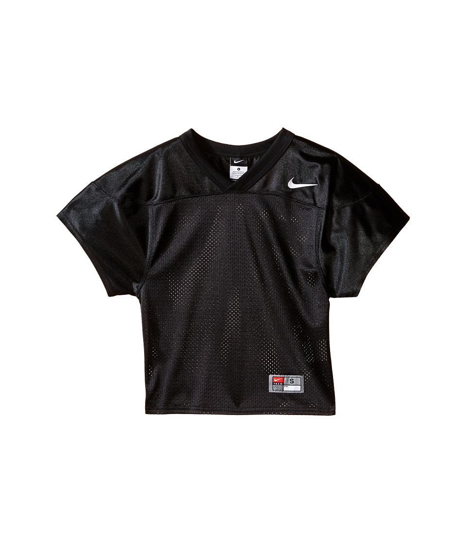 Nike Kids - Core Practice Football Jersey (Big Kids) (Team Black/Team White) Boy's Clothing