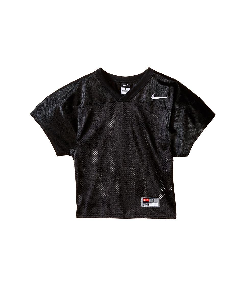 Nike Kids - Core Practice Football Jersey (Big Kids) (Team Black/Team White) Boy's Clothing