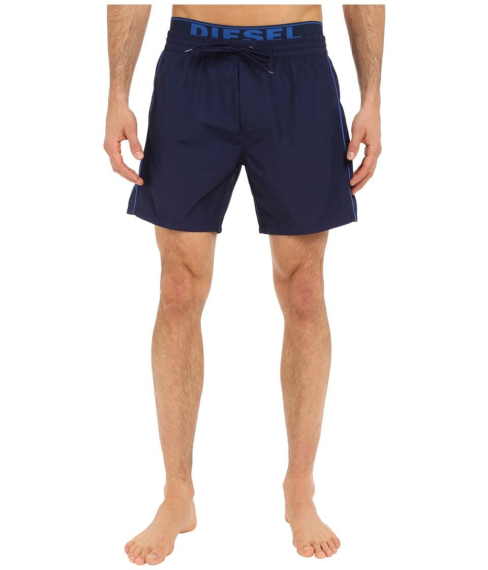 Diesel - Dolphin-E Boxer Medium KAKY (Blue) Men's Swimwear