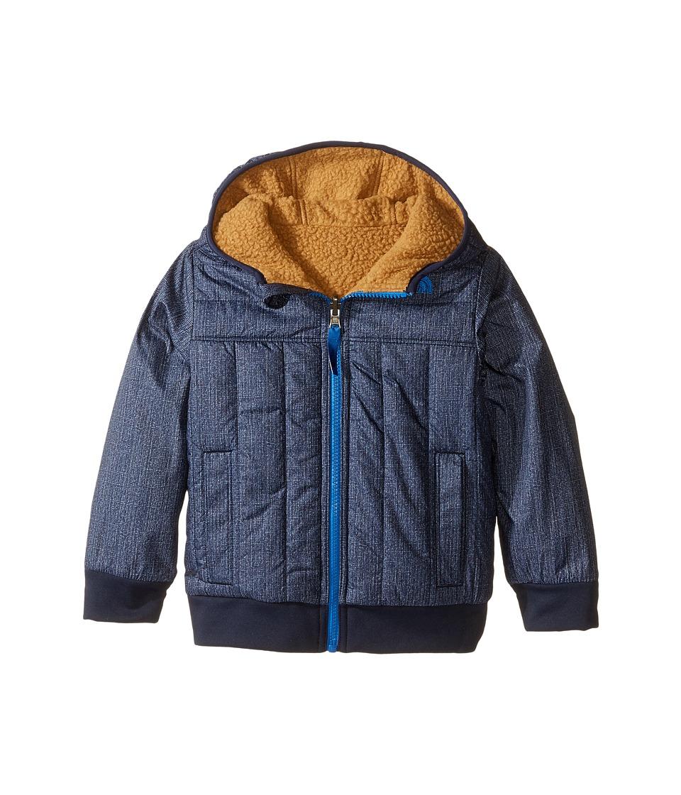 The North Face Kids - Reversible Yukon Hoodie (Toddler) (Cosmic Blue Denim Print) Boy's Sweatshirt