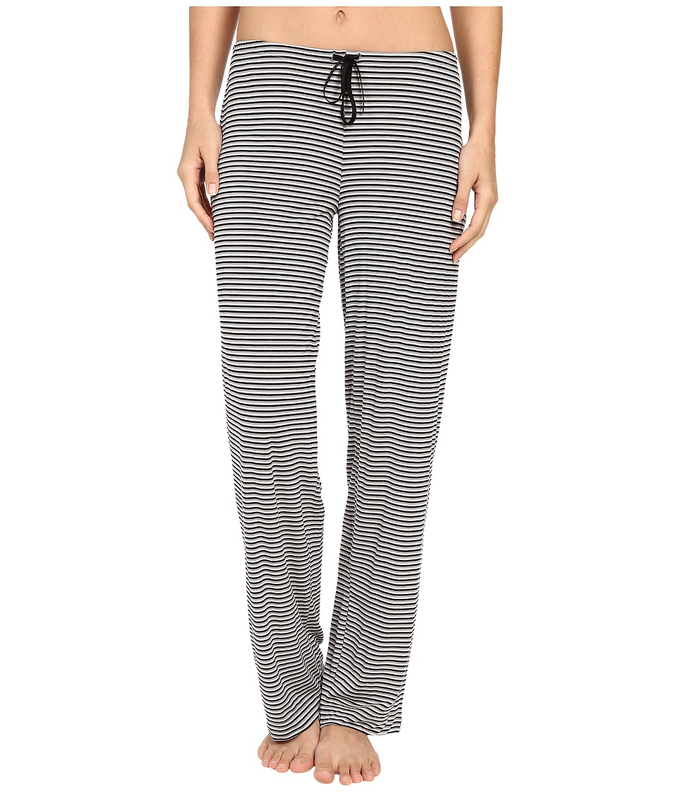 DKNY - Urban Essentials Lounge Pants (Black Stripe) Women's Pajama