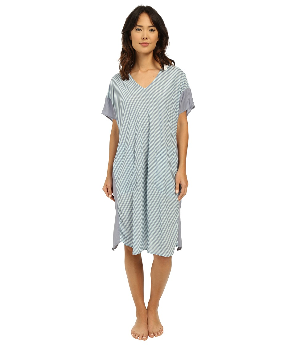 DKNY - Spring Ahead Caftan (Spa Stripe) Women's Pajama