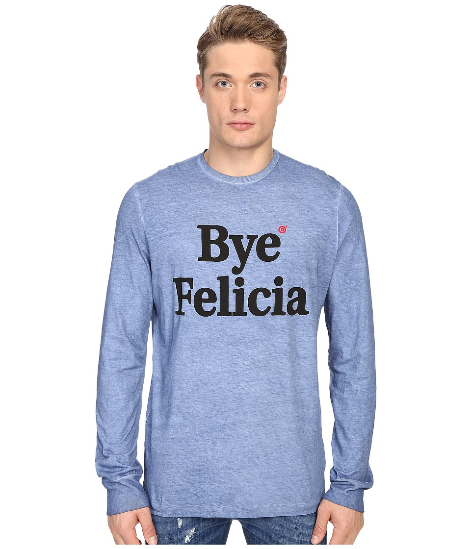 DSQUARED2 - New Surf Fit Bye Felicia Tee (Light Blue) Men's T Shirt