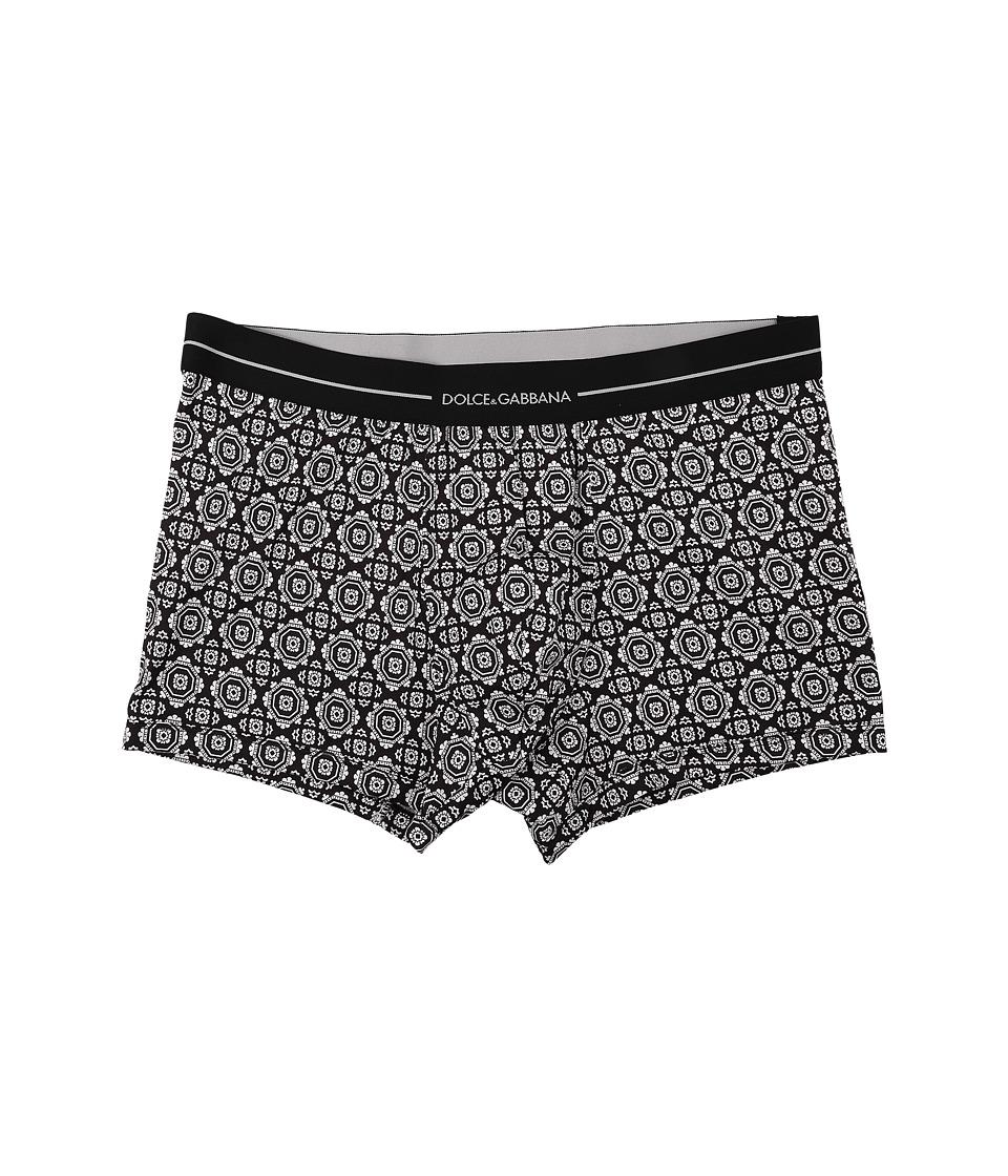 Dolce & Gabbana - Regular Boxer Brief (Tie Print) Men's Underwear
