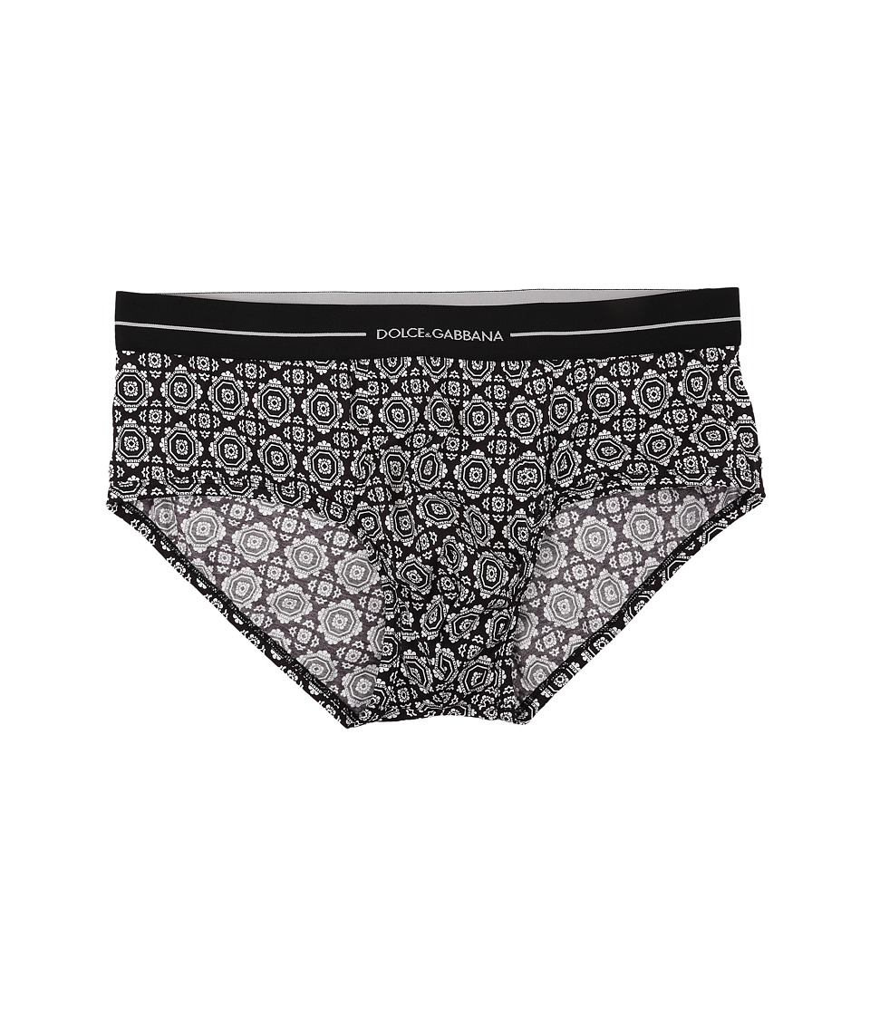 Dolce & Gabbana - Brando Brief (Tie Print) Men's Underwear