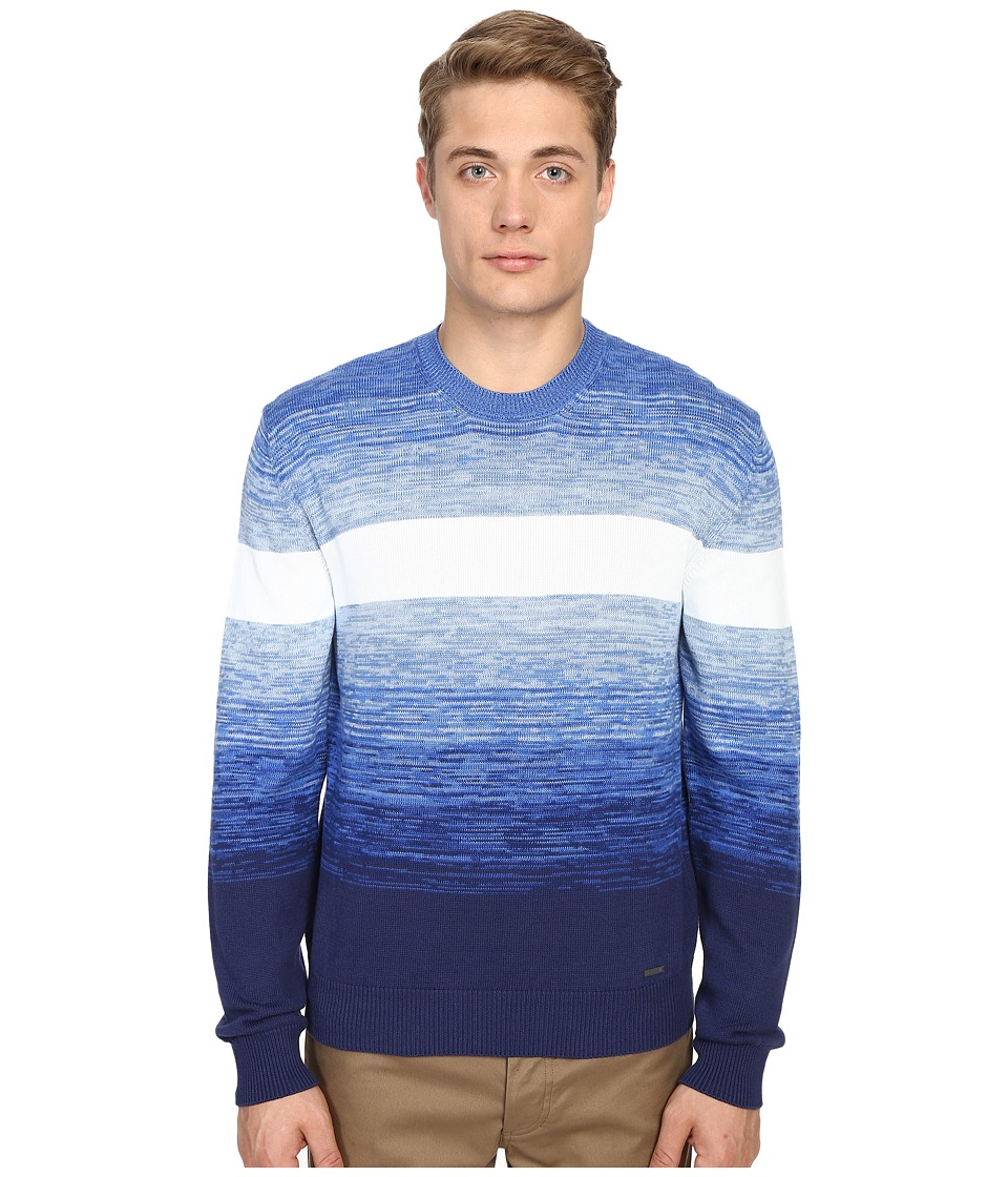 DSQUARED2 - Grunge Skit Sweatshirt (Fantasy Blue) Men's Sweatshirt