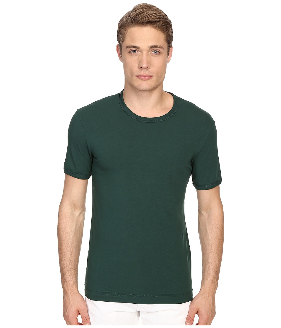 Dolce & Gabbana - Colors R-Neck T-Shirt (Green) Men's T Shirt