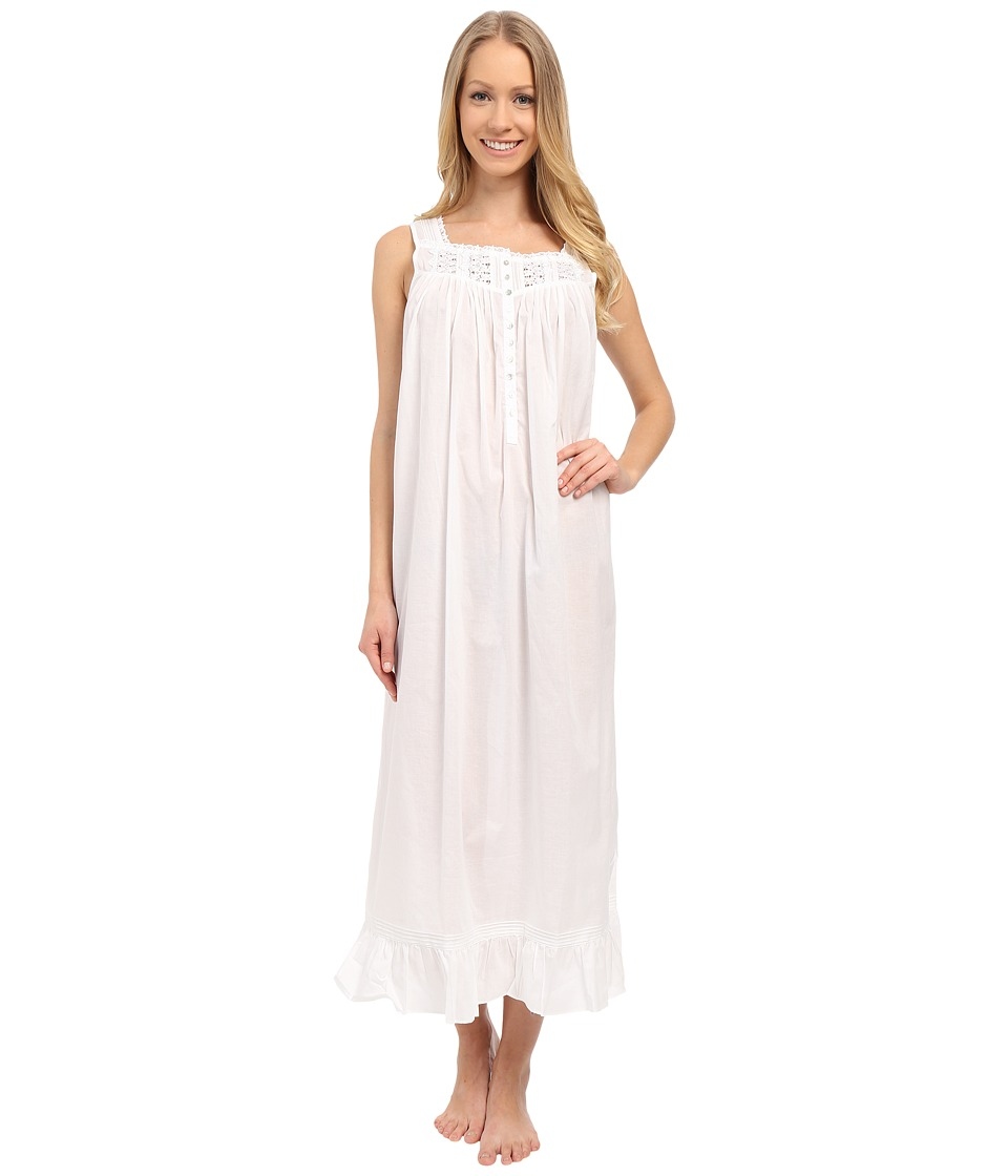 Eileen West - Timeless Ballet Nightgown (Solid White) Women's Pajama