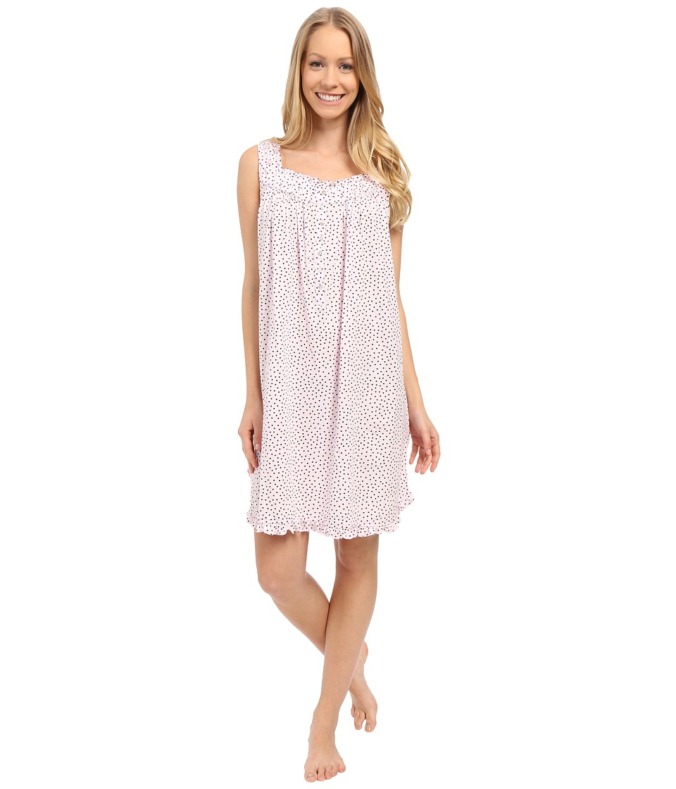 Eileen West - Happy Heart Chemise (Pink Ground/Tiny Hearts) Women's Pajama