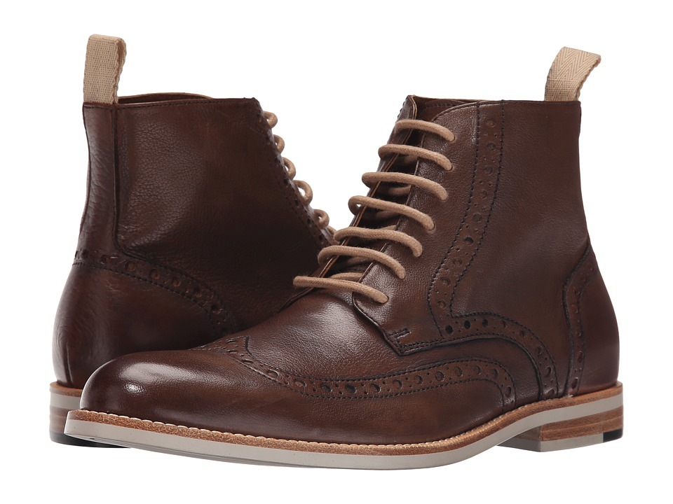 Gordon Rush - Patterson (Oak/Dark Brown) Men's Lace-up Boots