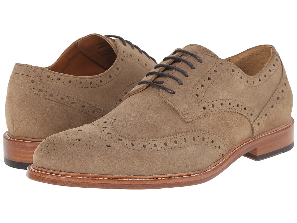 Gordon Rush - Baines (Sand) Men's Lace Up Wing Tip Shoes