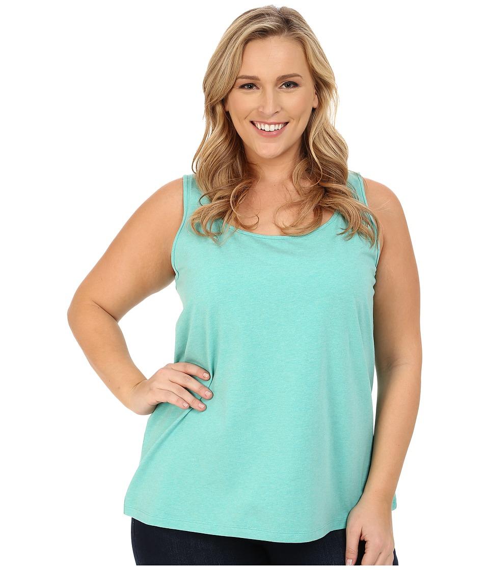 NIC+ZOE - Plus Size Perfect Scoop (Downy Heather) Women's Sleeveless