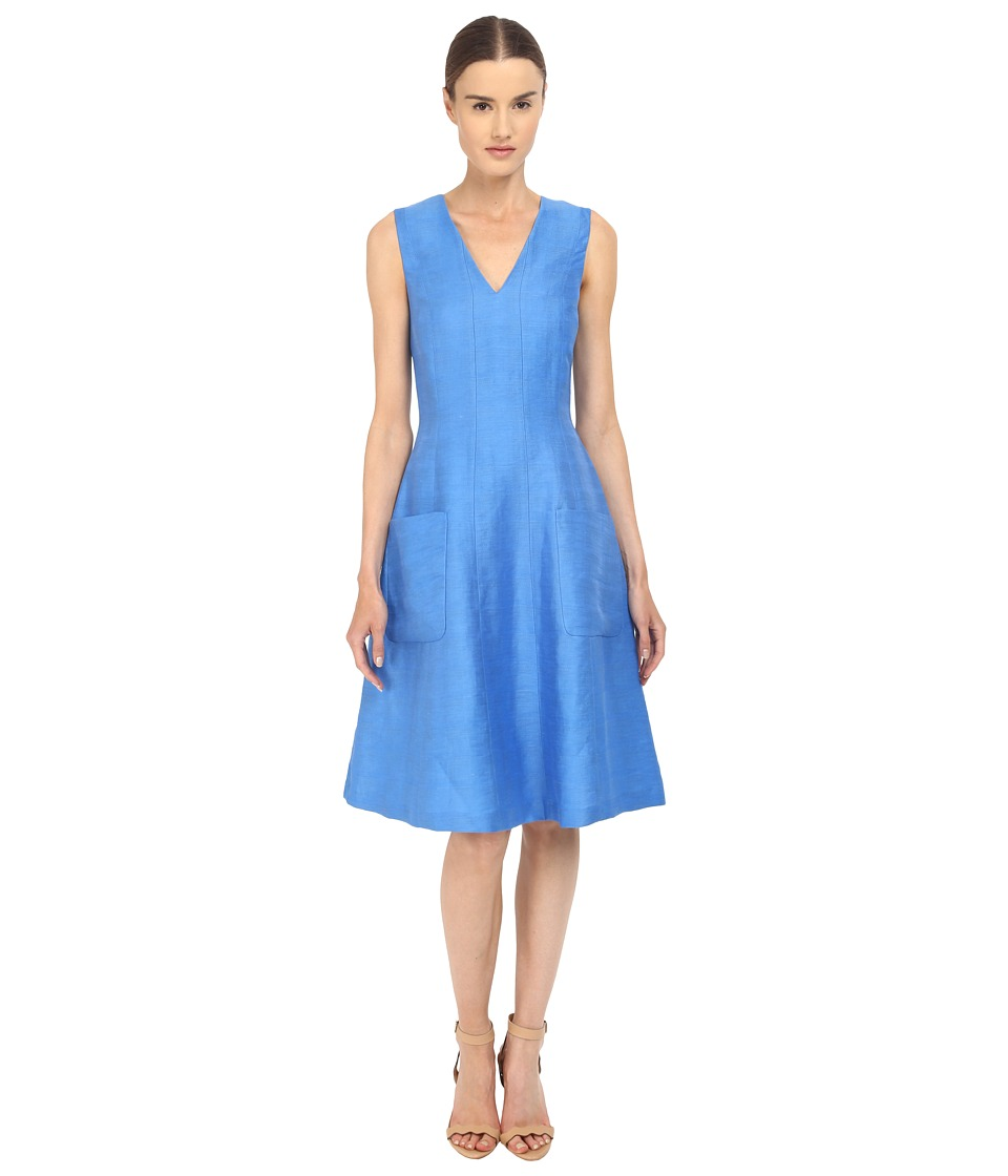 Paul Smith - Black Label Sleeveless Dress (Blue) Women's Dress