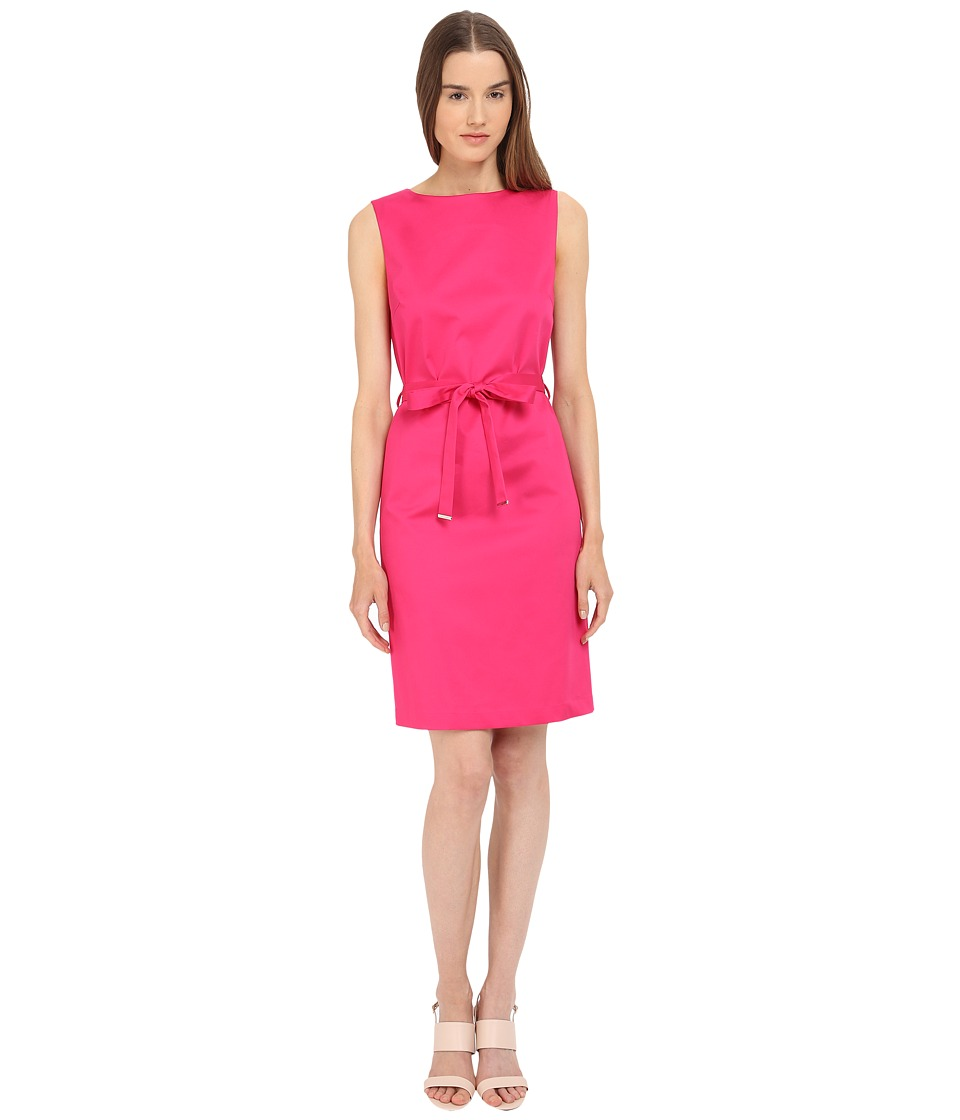 Paul Smith - Black Label Sleeveless Tie Dress (Hot Pink) Women's Dress
