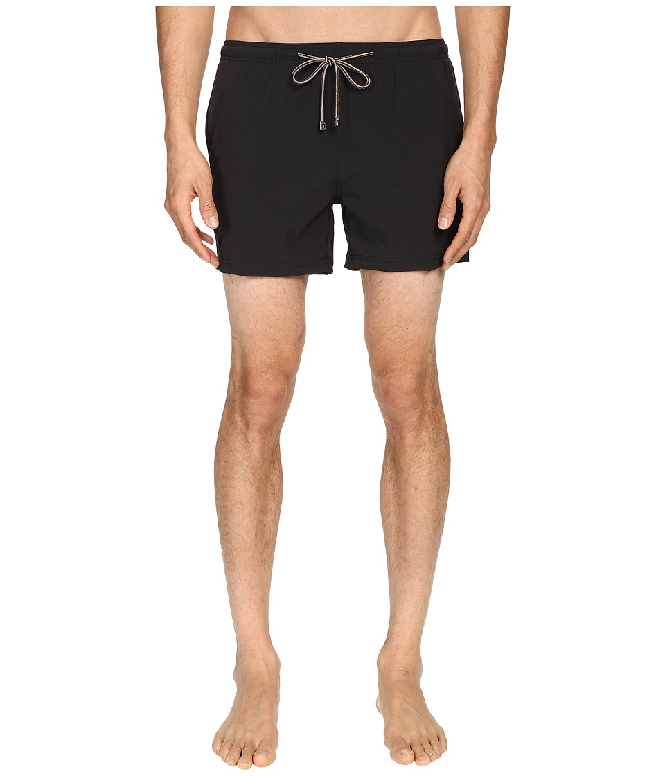 Paul Smith - Sport Swim Shorts (Black) Men's Swimwear