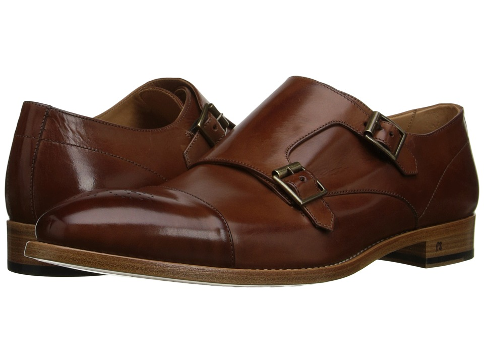 Paul Smith - Atkins Monkstrap (Tan) Men's Monkstrap Shoes