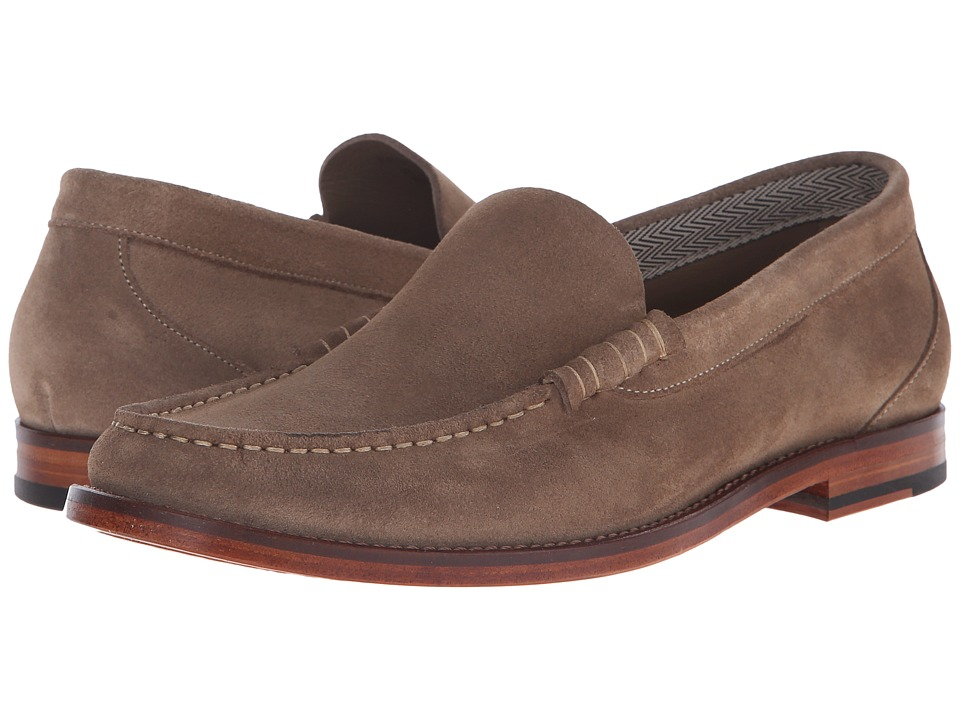 Paul Smith - PS Raymond Sand Reverse Suede Loafer (Sand/Light Tan) Men's Slip on Shoes