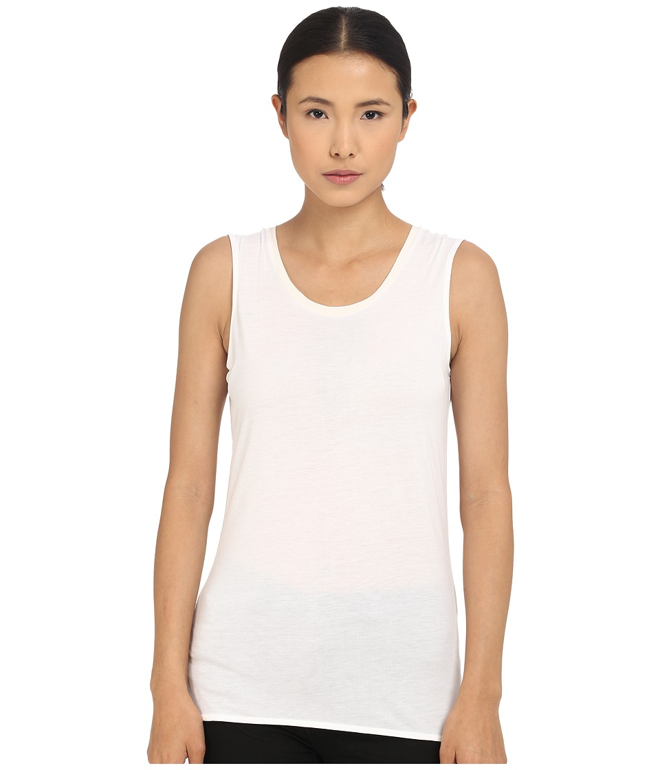 Paul Smith - Black Label Simple Tank Top (White) Women's Sleeveless