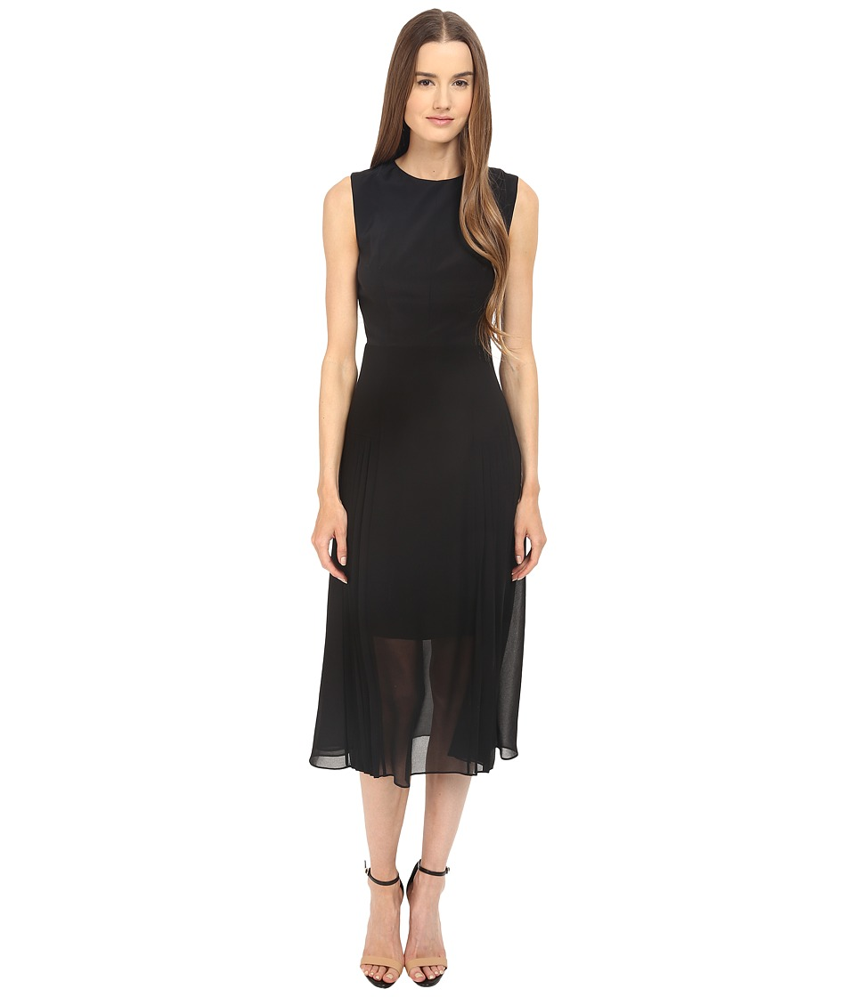 Paul Smith - Black Label Dress with Lace Back Detail (Black) Women's Dress