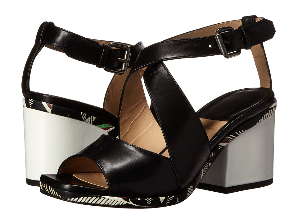 Paul Smith Ware Silvia Heel Sandal (Black) Women