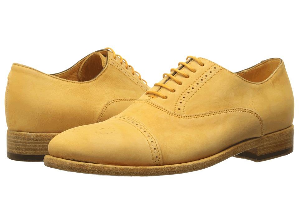 Paul Smith - Bertie Dip Dye Nubuck (Saffron) Women's Lace up casual Shoes