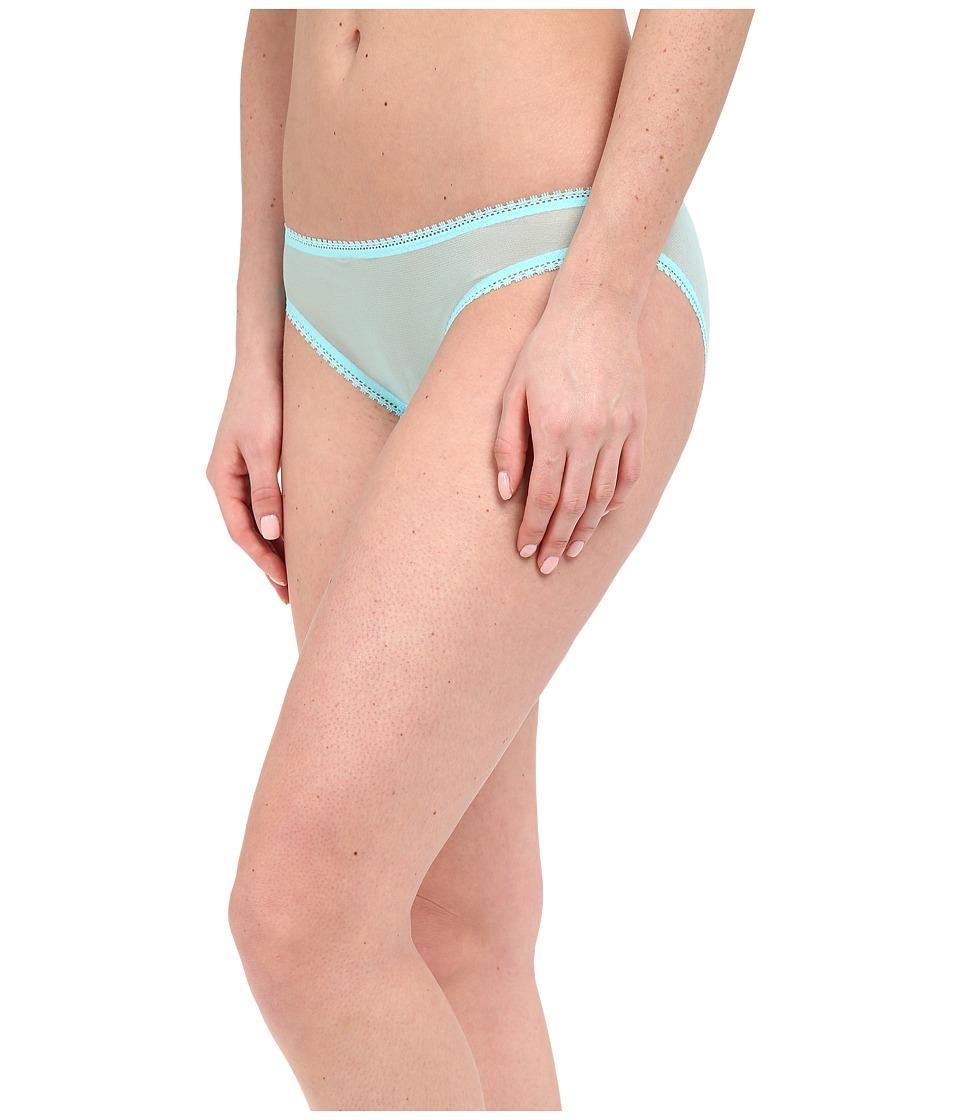 OnGossamer - Solid Gossamer Mesh Hip Bikini 3202 (Ocean Blue) Women's Underwear