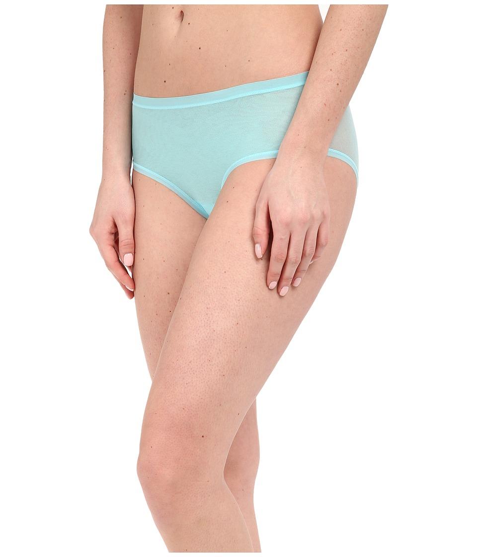 OnGossamer - Mesh Clean Edge Modern Brief 020850 (Ocean Blue) Women's Underwear