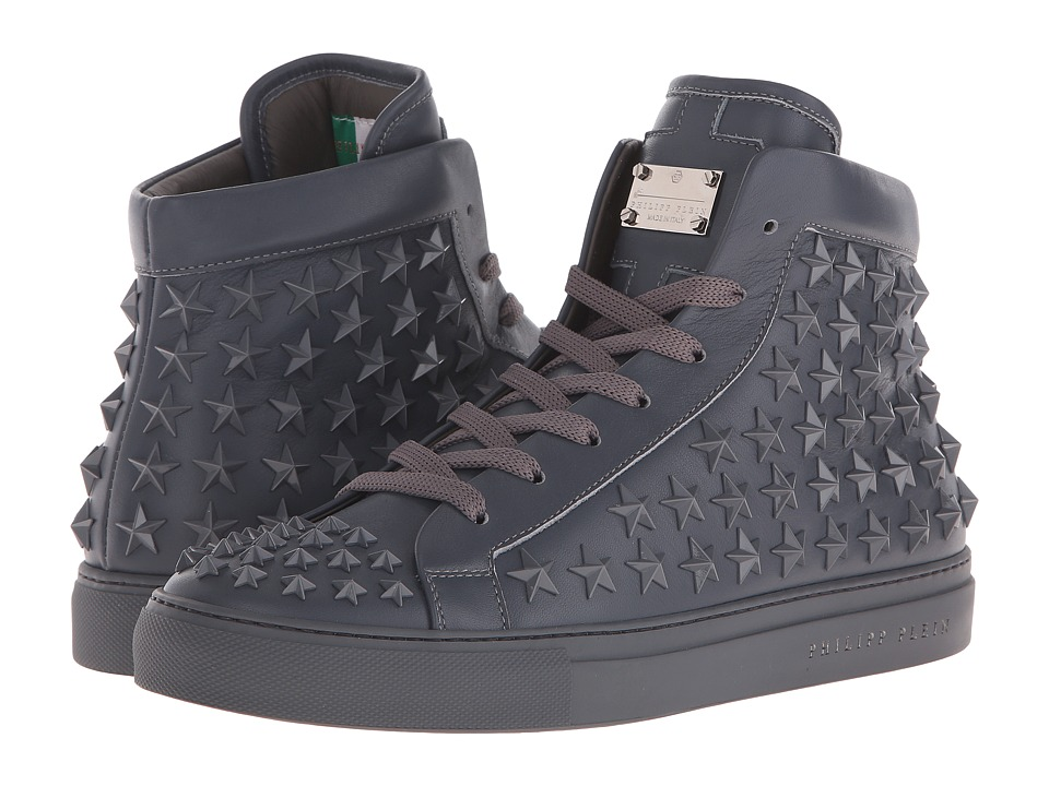 Philipp Plein - Our Enemies Hi-Top (Granite Rock) Men's Shoes