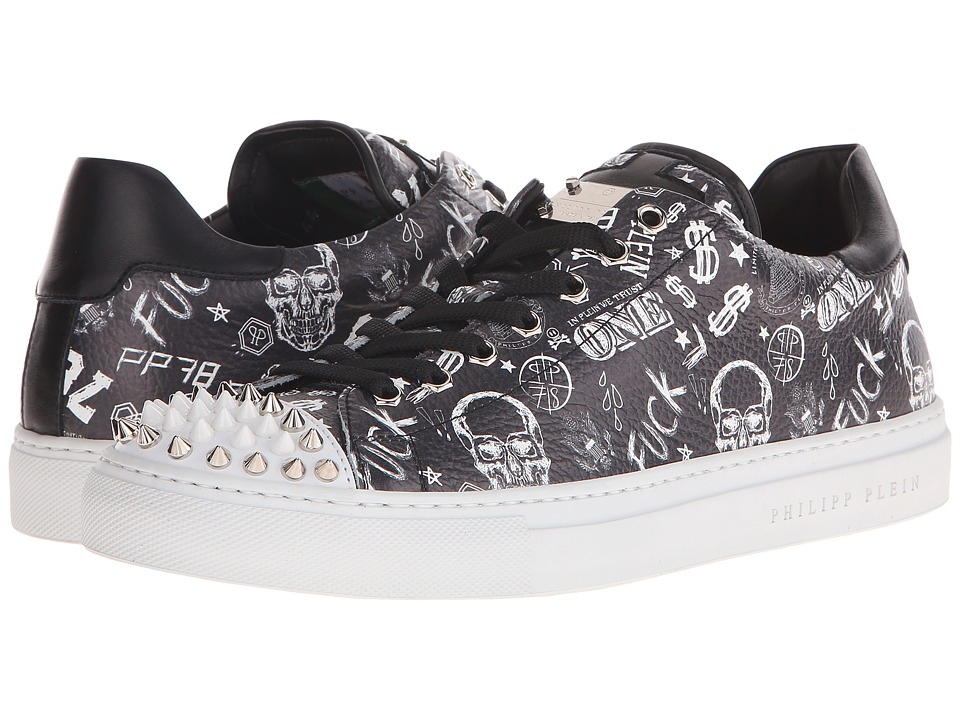 Philipp Plein - Hip Rock Sneaker (Black) Men's Shoes