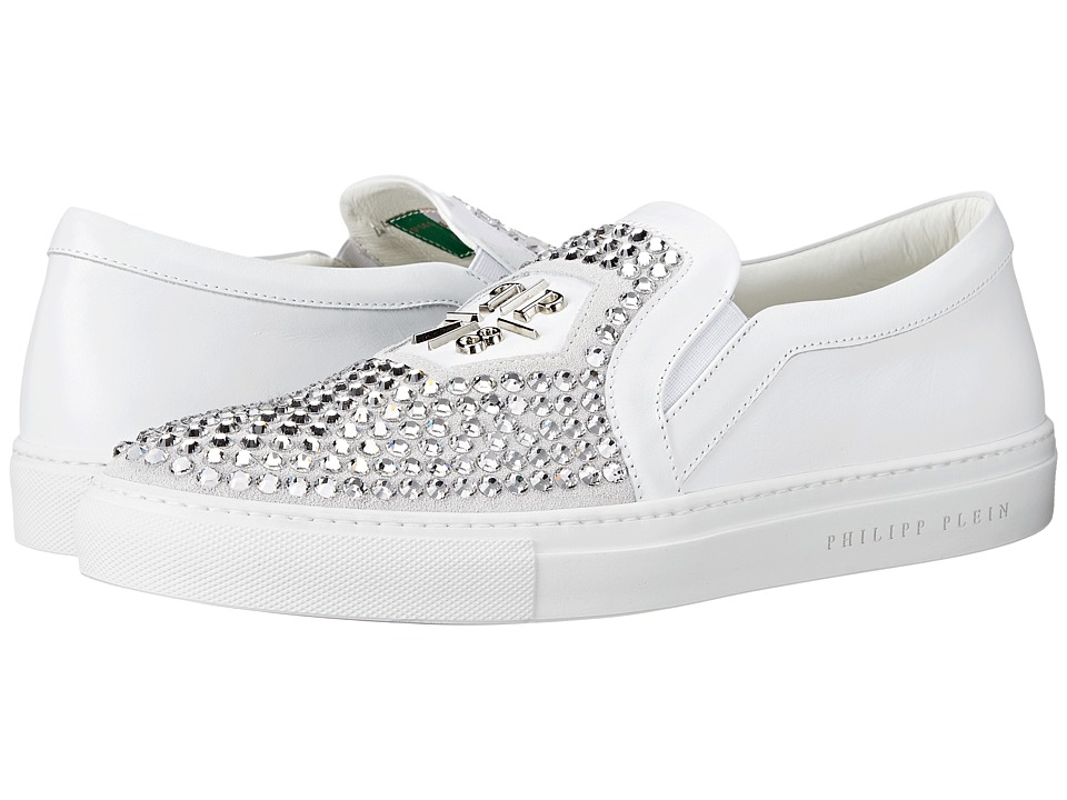Philipp Plein - Acting Crazy Sneaker (White) Men's Shoes