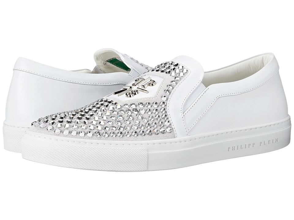 Philipp Plein - Acting Crazy Sneaker (White) Men's Shoes