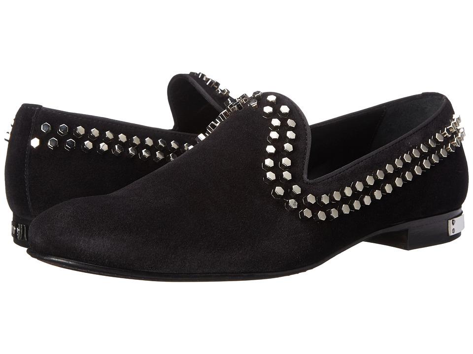 Philipp Plein - Epic Loafer (Black) Men's Slip on Shoes