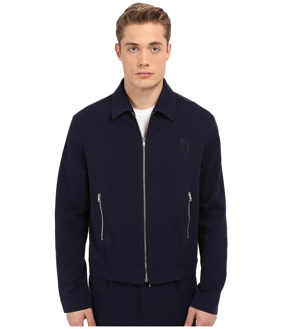 McQ - Blouson Zip Shirt Jacket (Midnight Navy) Men's Coat