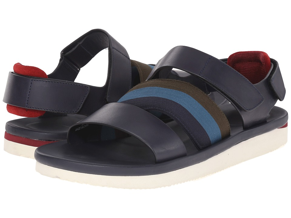 Paul Smith - Jeans Bowler Dark Stetson Sandal (Navy) Men's Sandals