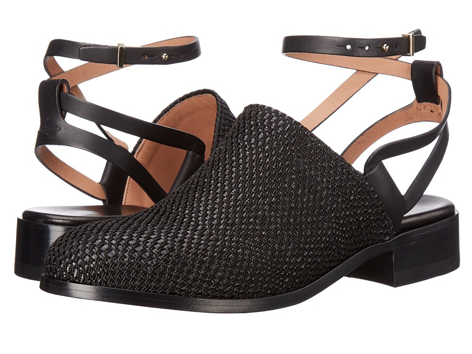Paul Smith - Nori Woven Nylon Strap (Black) Women's Shoes
