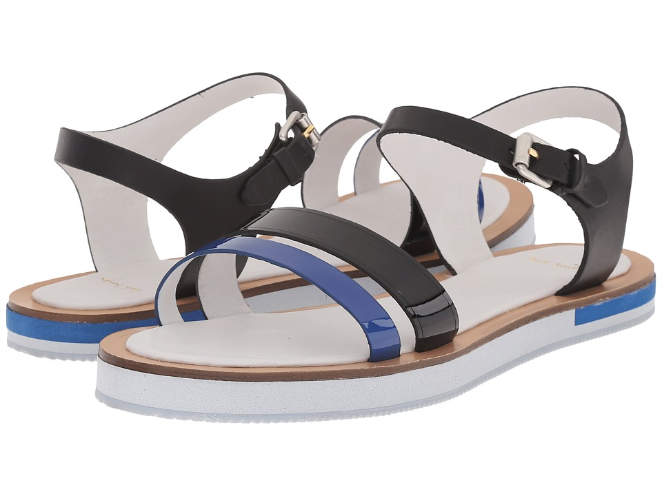 Paul Smith - Itten Federal Charol Patent (Blue/Black) Women's Sandals