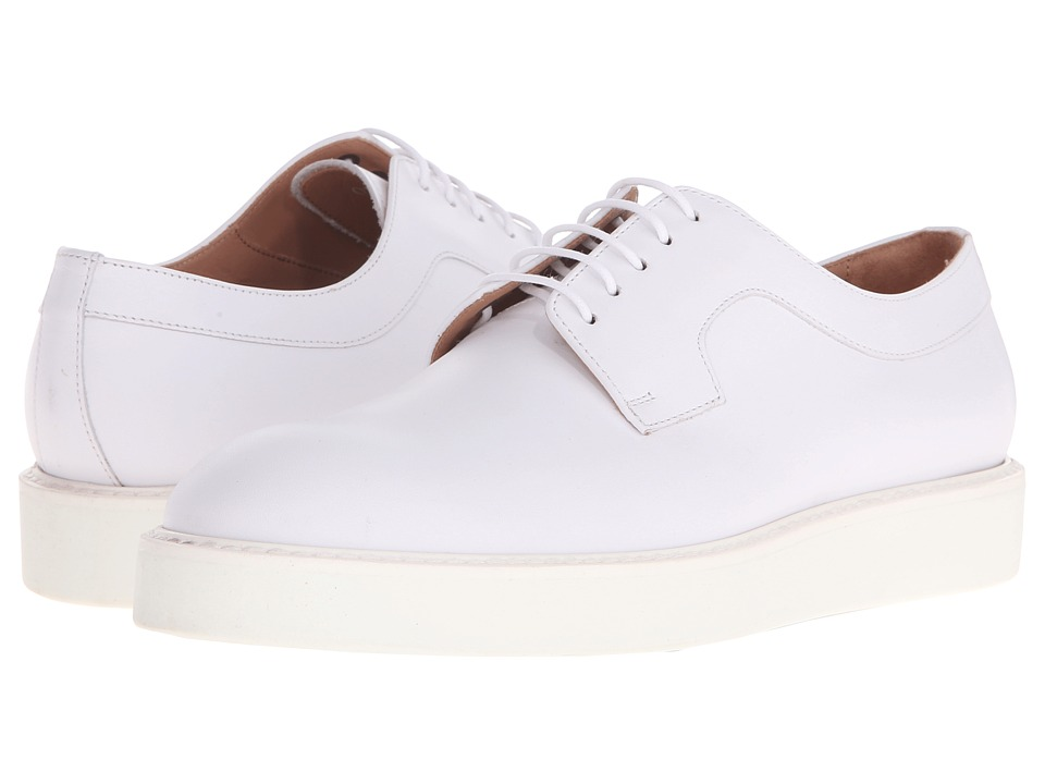 Paul Smith - Afton Etrusco (White) Women's Lace up casual Shoes