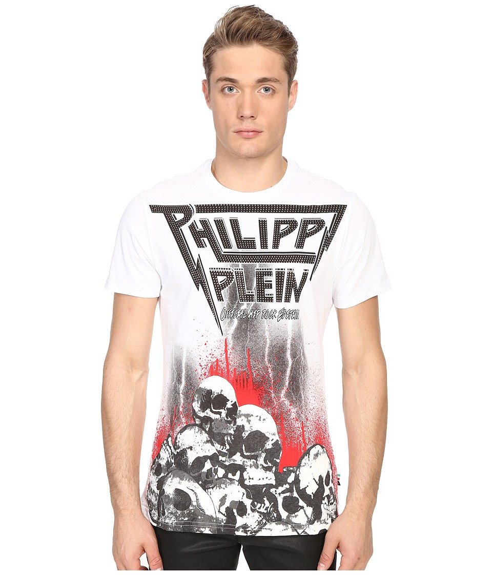 Philipp Plein - Tomb T-Shirt (White) Men's T Shirt