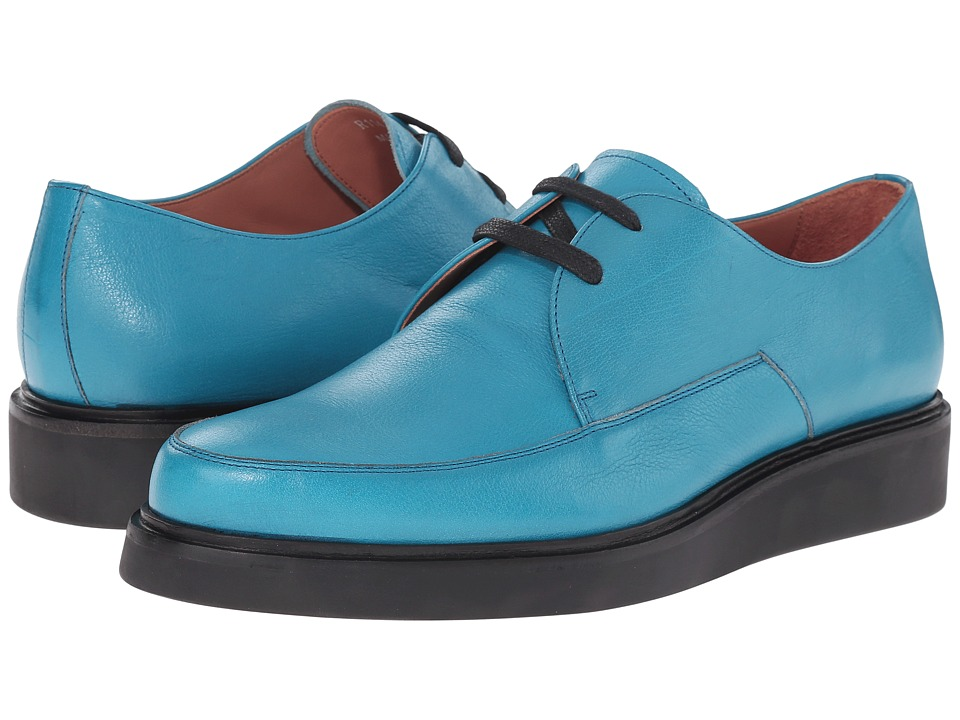 Paul Smith - Nico Buffalino (Turquoise) Men's Lace up casual Shoes