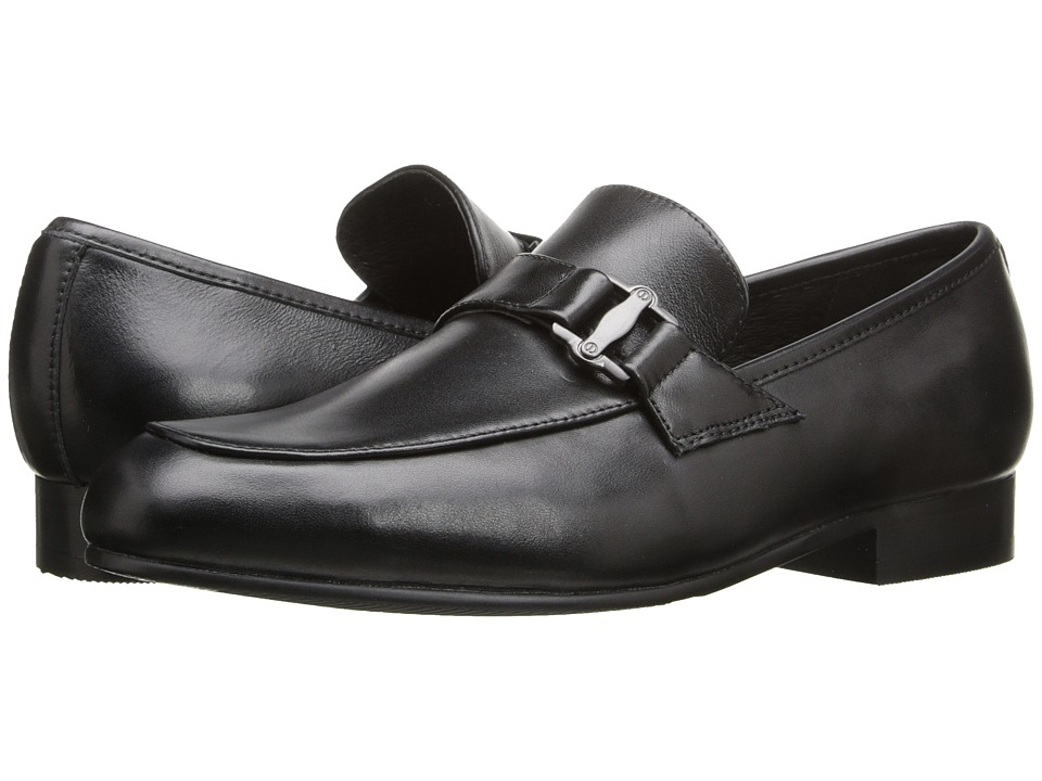 Venettini Kids - 55-Ace 10 (Little Kid/Big Kid) (Black Leather) Boy's Shoes
