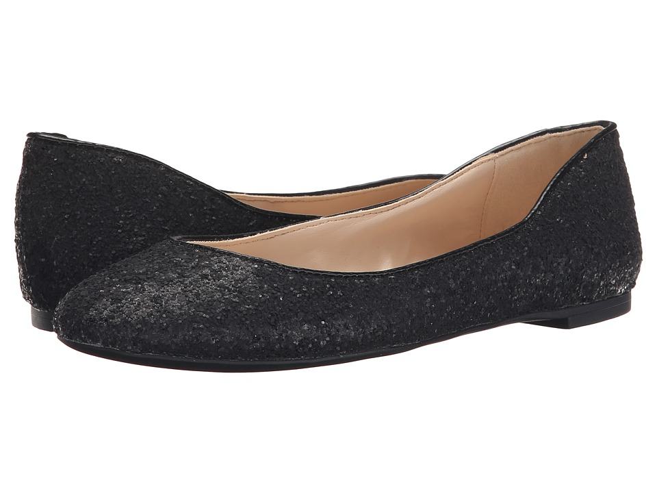Nine West - Adorabl (Black Fabric/Black Fabric) Women's Slip on Shoes