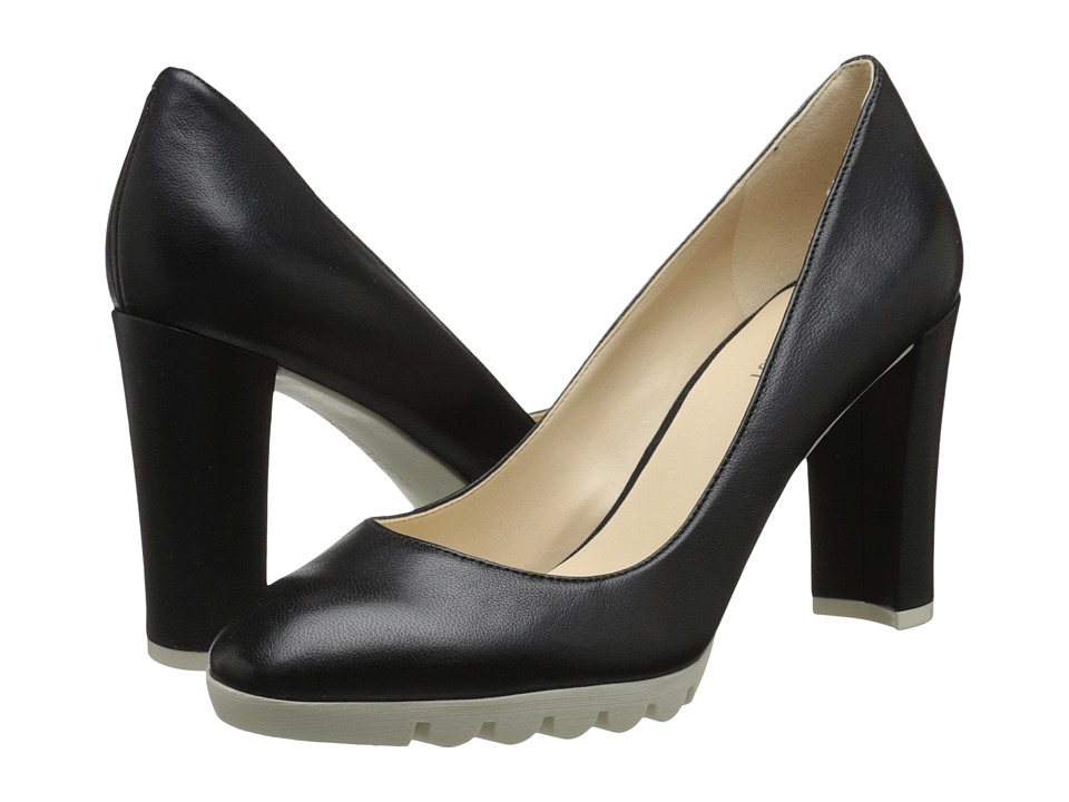 Nine West - Edrica (Black Leather) Women's Shoes