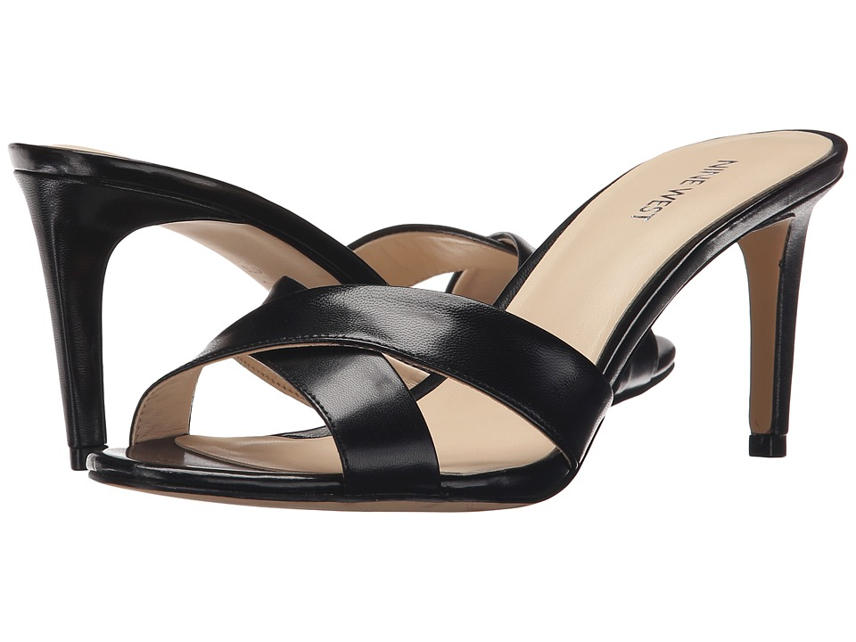 Nine West Allto (Black Leather) Women