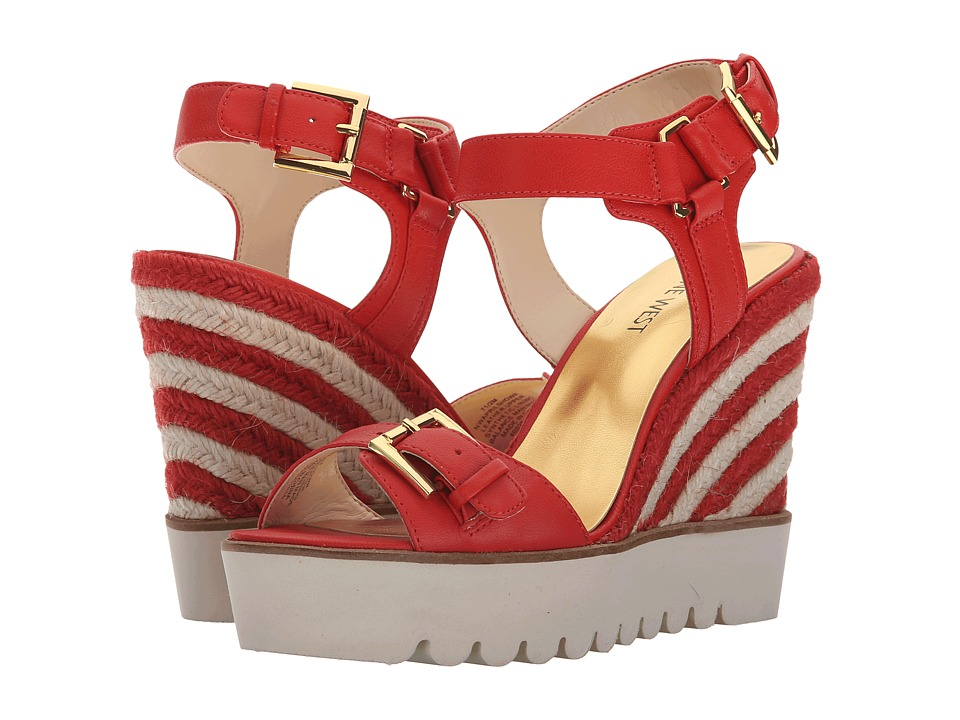 Nine West Aprilshower (Red Leather) Women
