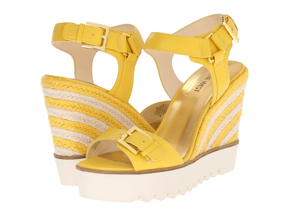 Nine West Aprilshower (Yellow Leather) Women