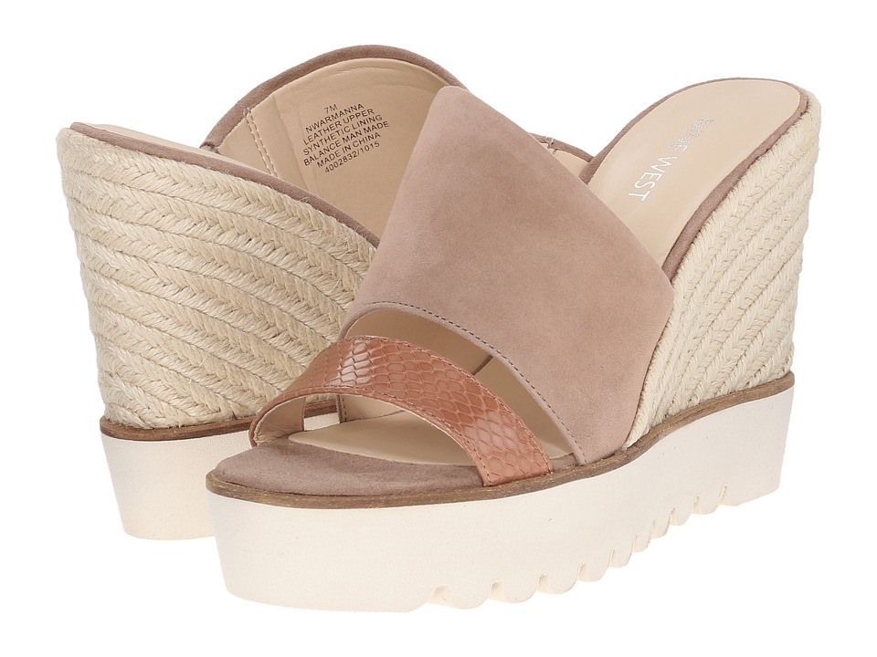 Nine West Armanna (Light Natural/Natural Suede) Women