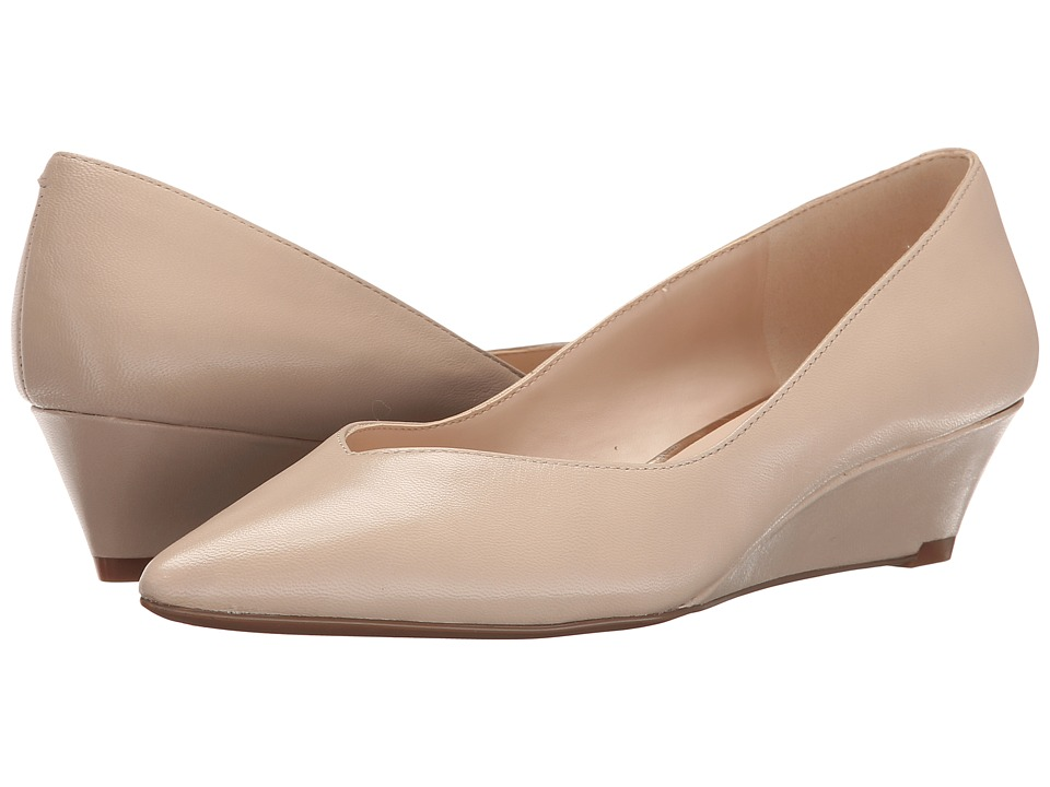Nine West - Elenta (Light Natural Leather) Women's Wedge Shoes