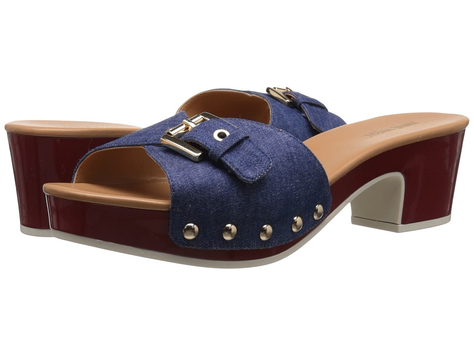 Nine West - Forchen (Blue Fabric) Women's Shoes