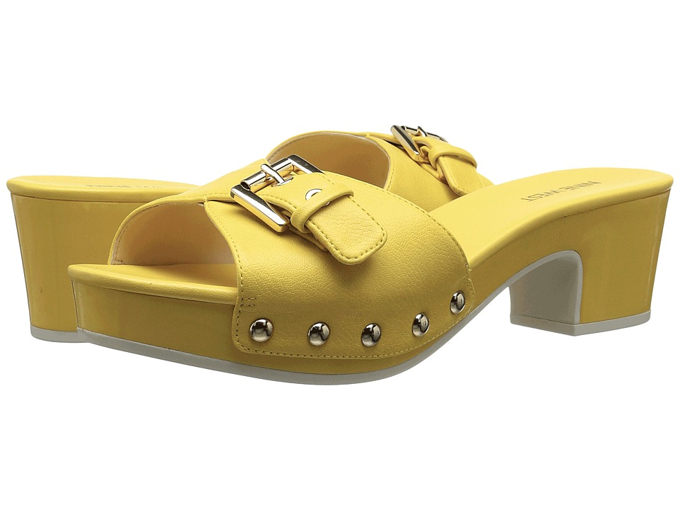 Nine West - Forchen (Yellow Synthetic) Women's Shoes